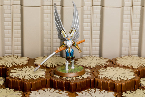 Raelin the Kyrie Warrior (ROTV) - Unique Hero-All Things Heroscape