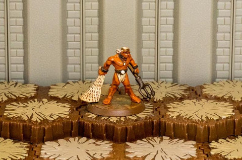 Retiarius - Unique Hero-All Things Heroscape