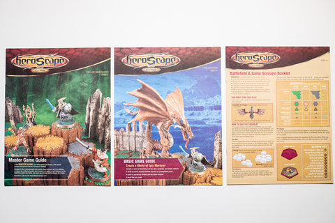 ROTV 1st Ed - Complete Instructions Manuals Set-All Things Heroscape