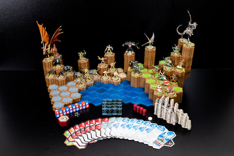 Master Set 1 - Rise of the Valkyrie, 1st Edition - 100% Complete-All Things Heroscape