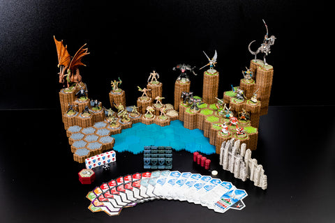 Master Set 1 - Rise of the Valkyrie, 2nd Edition - 100% Complete-All Things Heroscape