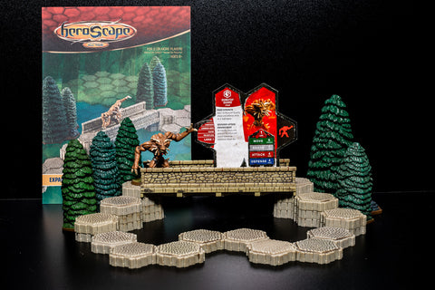 Road to the Forgotten Forest - Terrain Expansion Set-All Things Heroscape
