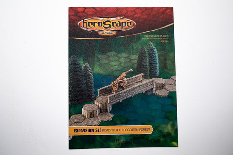 Road to the Forgotten Forest Instructions Manual-All Things Heroscape