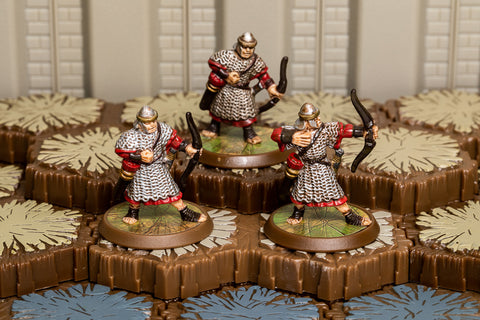 Roman Archers - Common Squad-All Things Heroscape