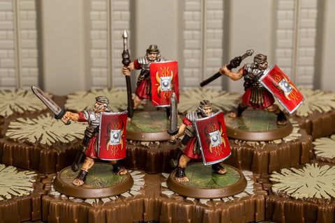 Roman Legionnaires - Common Squad-All Things Heroscape