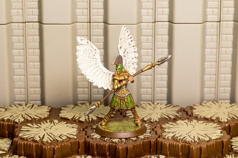 Saylind the Kyrie Warrior - Unique Hero-All Things Heroscape