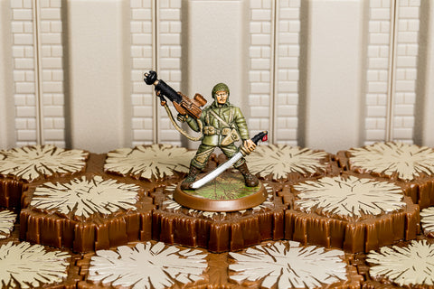 Sgt Drake Alexander (ROTV) - Unique Hero-All Things Heroscape