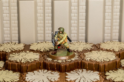 Sgt Drake Alexander (SOTM) - Unique Hero-All Things Heroscape