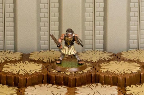 Spartacus - Unique Hero-All Things Heroscape
