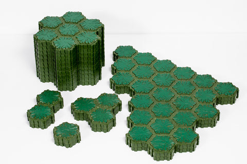 Swamp Land Lot - 130 Hexes-All Things Heroscape