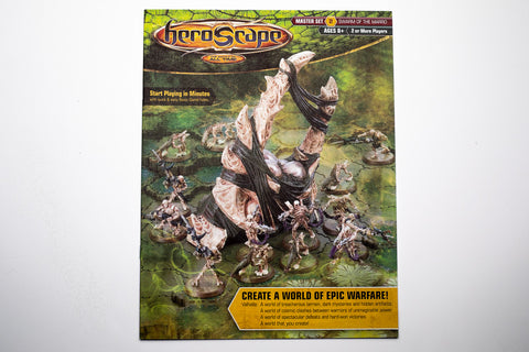 Swarm of the Marro Instructions Manual-All Things Heroscape
