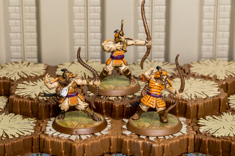 Tagawa Samurai Archers - Common Squad-All Things Heroscape