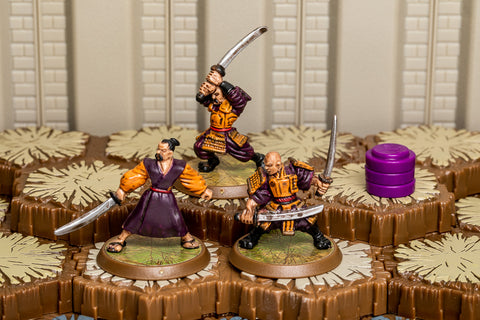 Tagawa Samurai - Unique Squad-All Things Heroscape