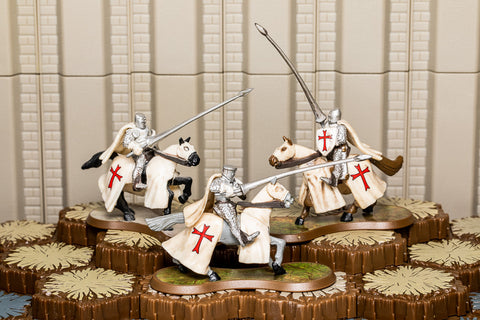 Templar Cavalry Knights - Common Squad-All Things Heroscape