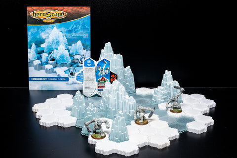 Thaelenk Tundra - Terrain Expansion Set-All Things Heroscape