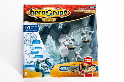 Thaelenk Tundra Terrain Expansion - NEW!-All Things Heroscape