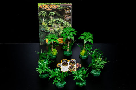 Ticalla Jungle - Terrain Expansion Set-All Things Heroscape