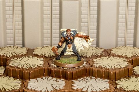 Valguard - Unique Hero-All Things Heroscape