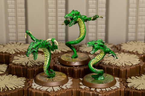 Venoc Vipers - Common Squad-All Things Heroscape