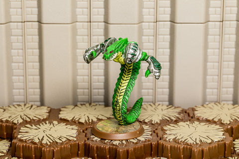 Venoc Warlord - Unique Hero-All Things Heroscape