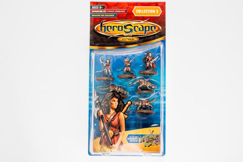 Warriors & Soulborgs Figure Expansion - Wave 5 - NEW!-All Things Heroscape
