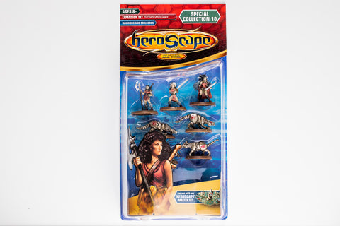 Warriors & Soulborgs Figure Expansion - Wave 10 - NEW!-All Things Heroscape