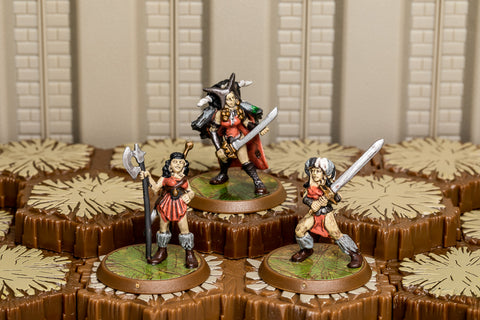Warriors of Ashra - Common Squad-All Things Heroscape