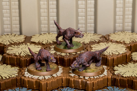 Wolves of Badru - Common Squad-All Things Heroscape