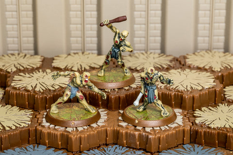 Zombies of Morindan - Common Squad-All Things Heroscape