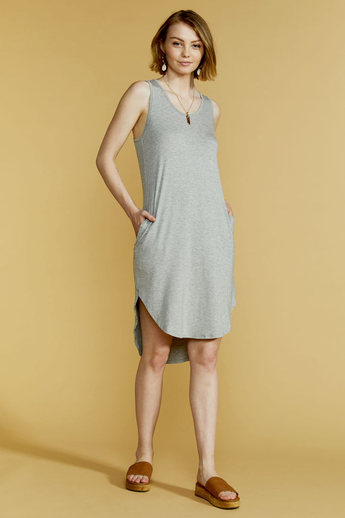 Tobie Dress - Grey