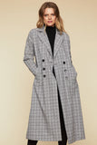 Aston Check Coat