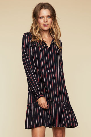 Marion Pleated Mini Dress