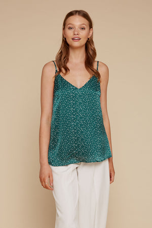 Rosaley Top - Emerald