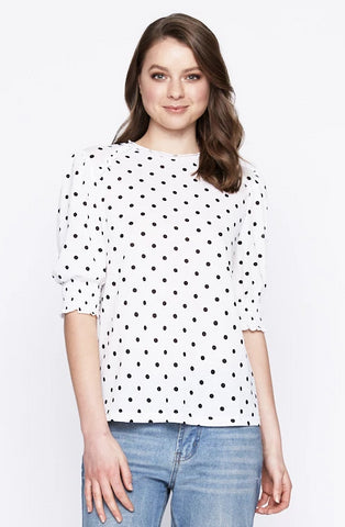 Imogen Cross Front Top