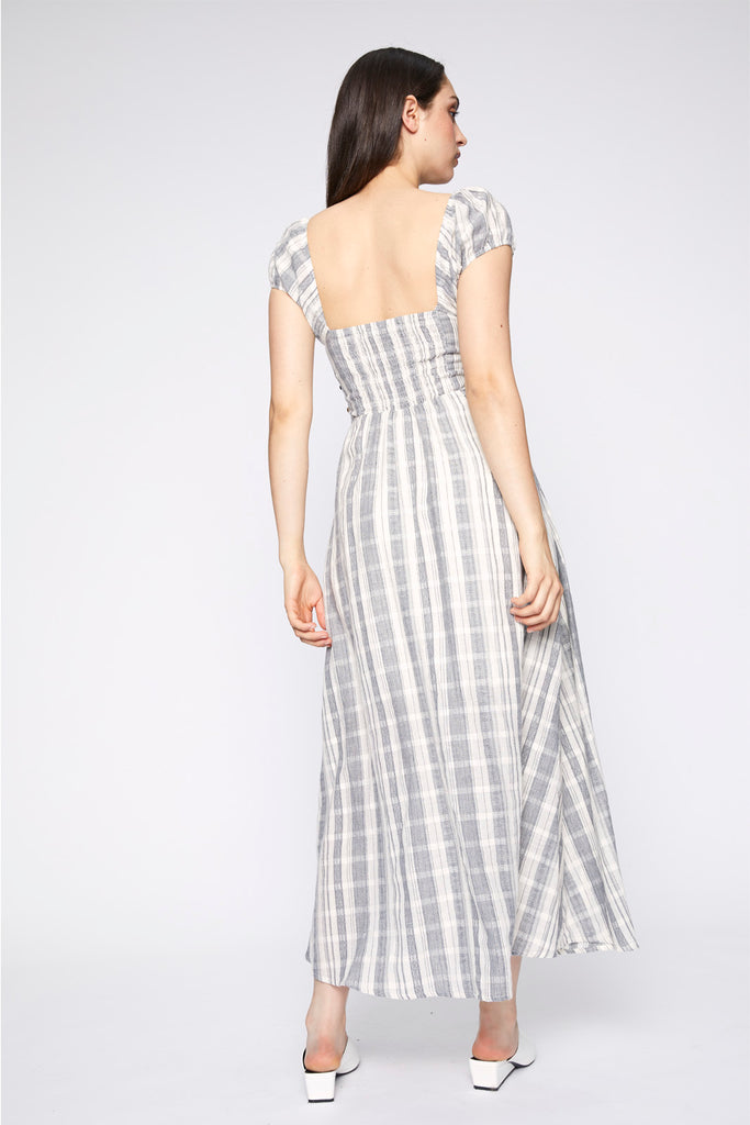 Annaliese Tie Up Maxi Dress