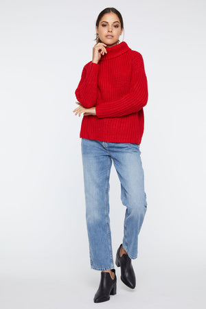 Joy Jumper- Red