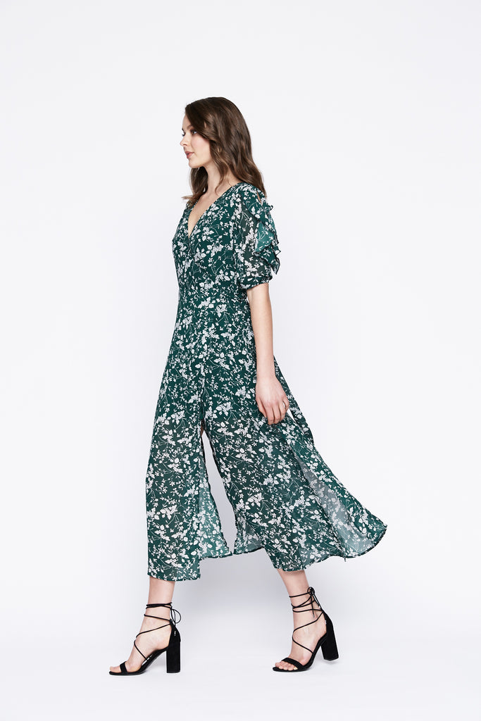 Ainsley Floral Midi Dress