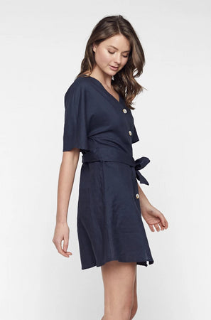 Aria Button Dress