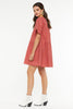 Finley Swing Dress- Rusty