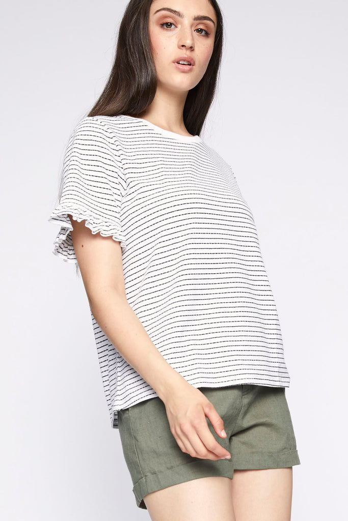 Remy Ruffle Top