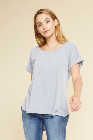 June Top - Grey
