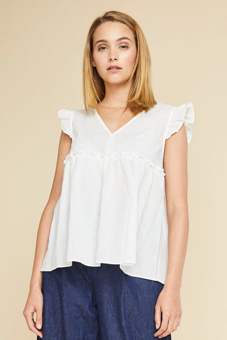 Roxy Ruffle Top