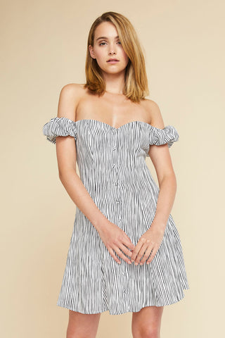 Simone Ruffle Dress