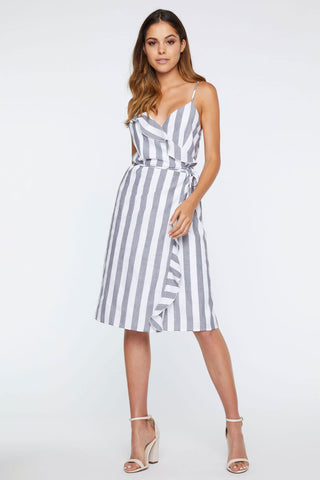 Reese Tie Up Swing Dress