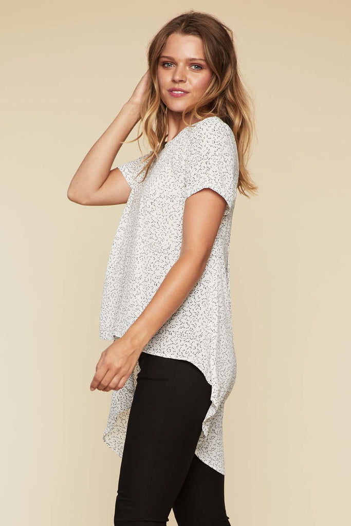 Joanna Waterfall Tail Top