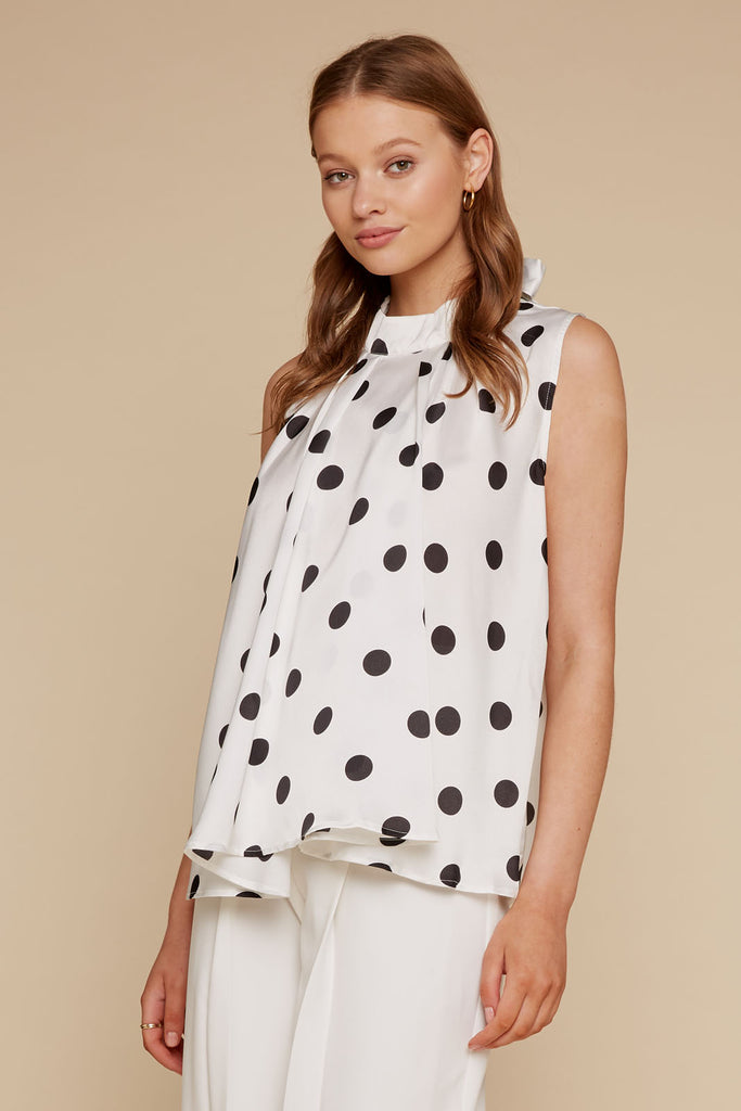 Clara Polka Dot Top