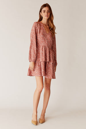 Jasmine Ruffle Dress