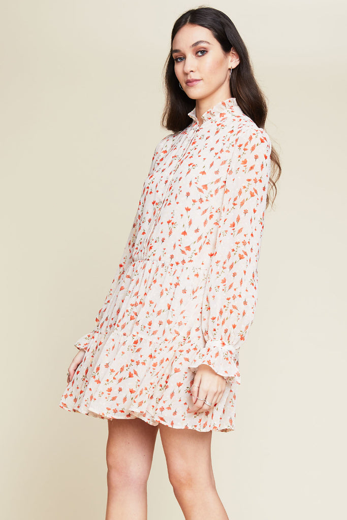 Portia High Neck Dress