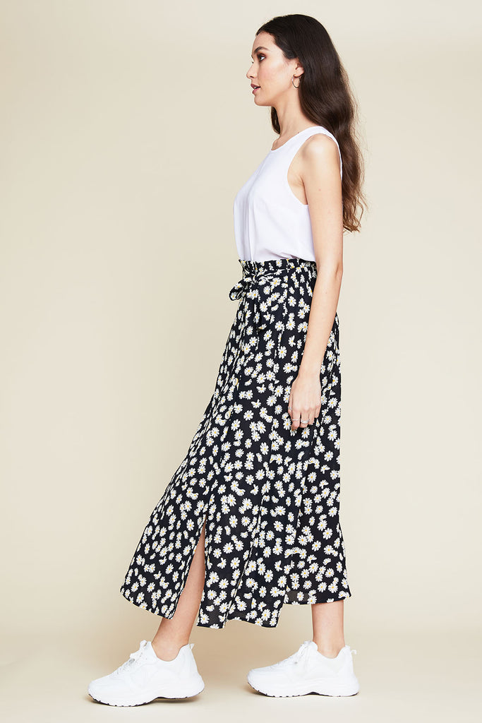 Willow Daisy Print Skirt