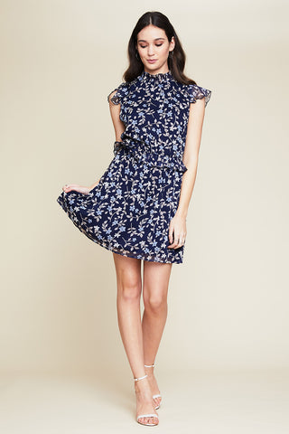 Maxine Tie Up Swing Dress